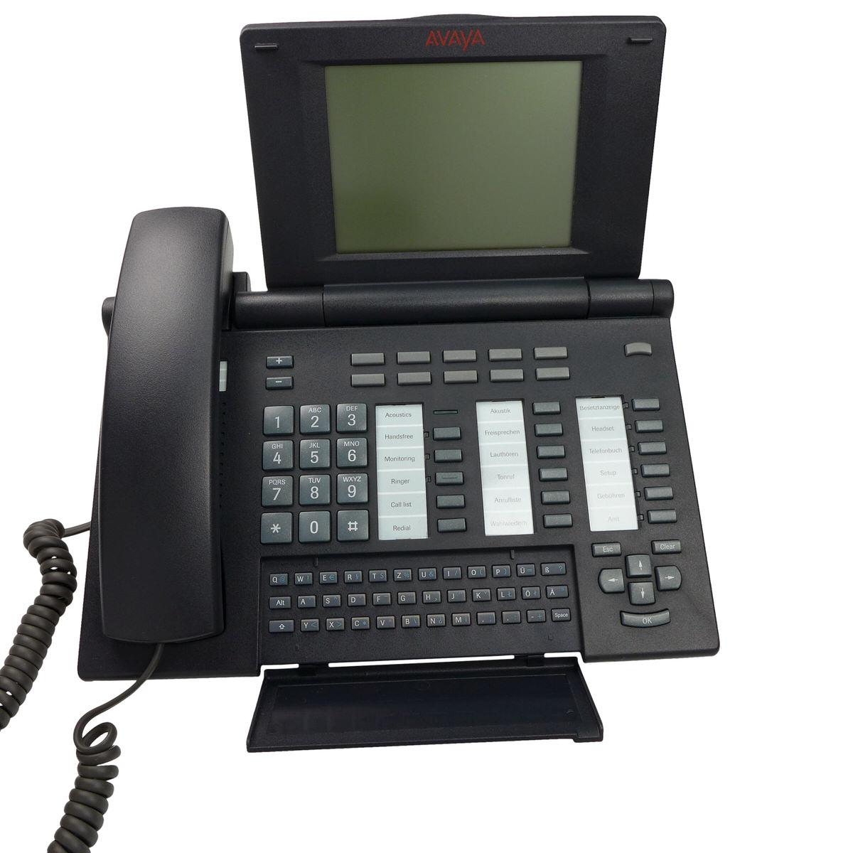 SoPoTEL - T3.11 Comfort Telefon schwarz I33 I55 Tenovis Avaya