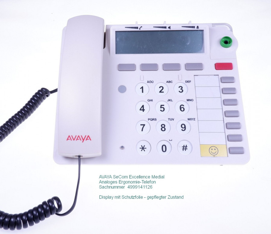 SeCom-Excellence Medial AVAYA Telefon 4999141126